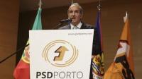 Silva Tiago discursando para o PSD